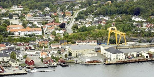Langesund Flytfoto